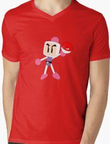 Volberman. Mens V-Neck T-Shirt