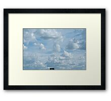Homage to Jeffrey Smart Framed Print