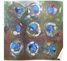Abstract Expressionism 7 Poster