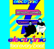 Electronic band Bernard & Johnny (New Order Smiths)Phone & IPad Case by Shaina Karasik