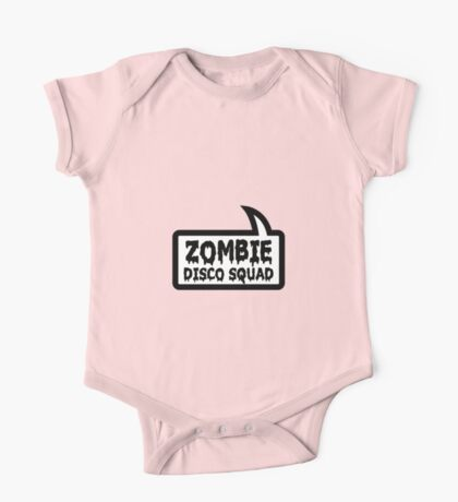 ZOMBIE DISCO SQUAD SPEECH BUBBLE by Zombie Ghetto One Piece - Short Sleeve