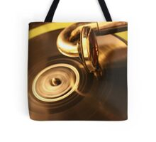 Spinning Record Tote Bag