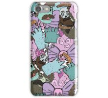 zombie collage (phonecase) iPhone Case/Skin