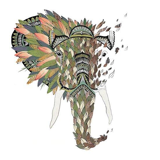 Asian Elephant by Haley Luden