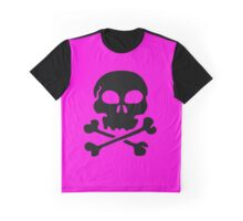 SKULL AND CROSSBONES by Zombie Ghetto Graphic T-Shirt