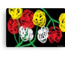 Midnight Roses Canvas Print