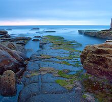 Maroubra Beach Rockshelf by Brawi Santoso