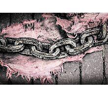 Chain Surgery Photographic Print