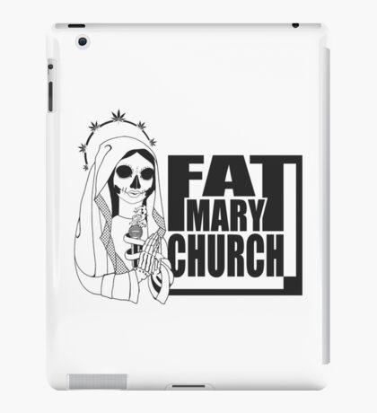 Fat Mary Church (B/W) - tablet cases iPad Case/Skin