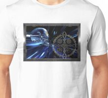 Celtic glass skull  Unisex T-Shirt