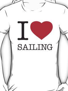I ♥ SAILING T-Shirt