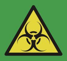 ZOMBIE APOCALYPSE HAZMAT SIGN by Zombie Ghetto Baby Tee