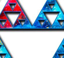 Sierpinski, Triangle, Mathematics, Fractal, Math, Geometry Sticker