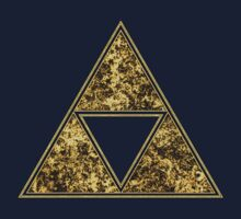 Sierpinski Triangle, Triforce, Zelda, Mathematics, Fractal, Math, Geometry by nitty-gritty