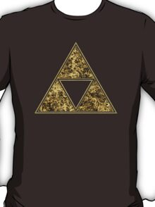 Sierpinski Triangle, Triforce, Zelda, Mathematics, Fractal, Math, Geometry T-Shirt
