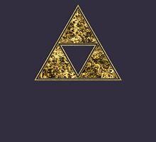 Sierpinski Triangle, Triforce, Zelda, Mathematics, Fractal, Math, Geometry Unisex T-Shirt