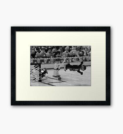 Bobby Orr and The Goal Framed Print