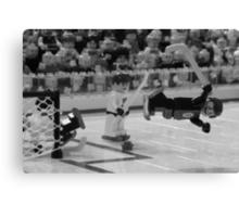 Bobby Orr and The Goal Canvas Print