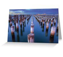 Princes Pier Melbourne Greeting Card