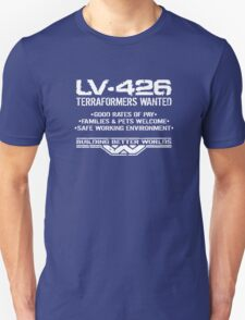 LV-426 Terraformers Wanted T-Shirt