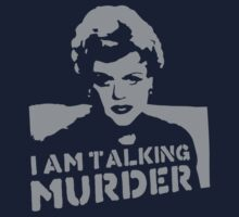 Deadly Lady - Murder by 8balltshirts