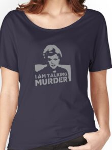 Deadly Lady - Murder Women's Relaxed Fit T-Shirt