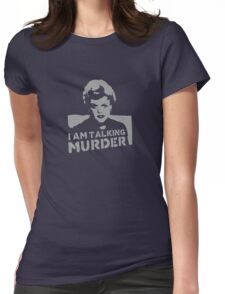 Deadly Lady - Murder Womens Fitted T-Shirt