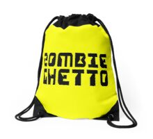 ZOMBIE GHETTO by Zombie Ghetto Drawstring Bag