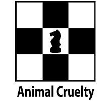 Animal cruelty Photographic Print