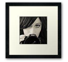 The Other Selfie Framed Print