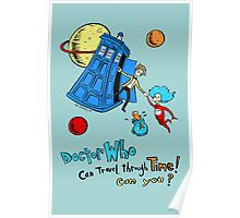 Dirk Strangely's Dr. Seuss style Doctor Who Poster