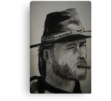 man with no name Canvas Print