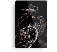 Vincent Black Shadow Engine Metal Print