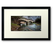 Border Crossing Framed Print