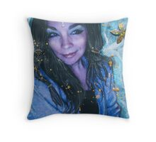 the crystal visions . . .  Throw Pillow