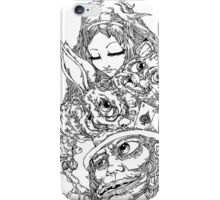 Alice & The Mad Hatter - phone cases iPhone Case/Skin