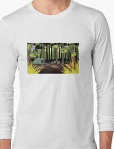 The Joy Of Camping Long Sleeve T-Shirt