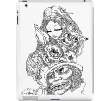 Alice & The Mad Hatter - tablet cases iPad Case/Skin