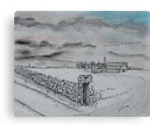 Stockbridge Fence Canvas Print