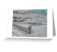 Stockbridge Fence Greeting Card