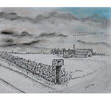 Stockbridge Fence Photographic Print