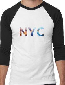 NYC Men's Baseball ¾ T-Shirt