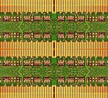 Electronic Circuit Pattern by DFLC Prints