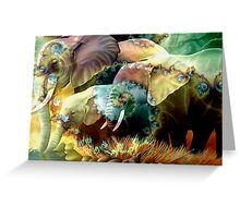 Save the Elephant Greeting Card