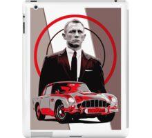 JAMES BOND-ASTON MARTIN iPad Case/Skin