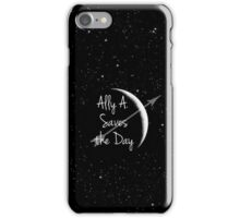 Ally A. Saves the Day iPhone Case/Skin