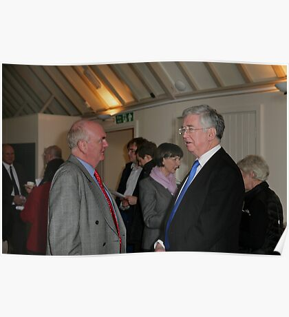 Christopher Jary  in conversation with Michael Fallon MP Poster