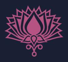 Lotus Flower Symbol Wisdom & Enlightenment Buddhism Zen Kids Tee
