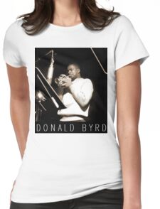 DONALD BYRD Womens Fitted T-Shirt