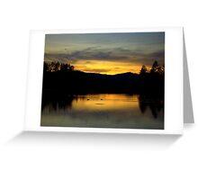 Goldwater Lake Prescott Arizona Greeting Card